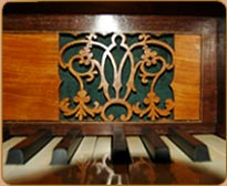 Piano fretwork