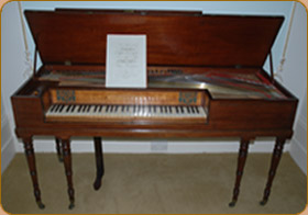 Mr Langshaws Square Piano
